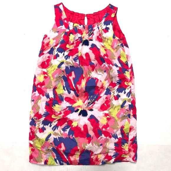 Gap watercolor shift dress M 8-9 (bundle only)